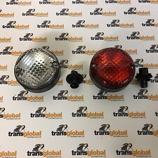 Land Rover Defender NAS Style Upgrade Round Fog & Reverse Light Lamp - 6522 3507