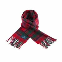 Scottish 100 % Authentic Wool Tartan Grant Modern Clan Scarf New !