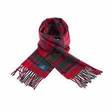 Scottish 100 % Authentic Wool Tartan Grant Modern Clan Scarf New !