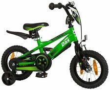 12 zoll Fahrrad mit Rücktrittbremse Kinderfahrrad Kinder Kinderrad schwarz Grün