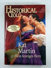 Historical Gold Roman Erotik Romantik Buch - Mein feuriges Herz