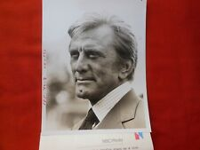"KIRK DOUGLAS  MOVIE ""THE MONEYCHANGERS"" 1976 NBC TV PHOTO B&W  & PRESS INFO"