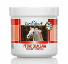 250 ml Asam Kraurerkof Pferdebalsam Massage Gel Strong Warming Effect Red