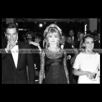#phs.007457 Photo BRIGITTE BARDOT, ALAIN DELON & JEANNE MOREAU 1965 Star