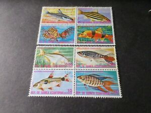 Guinea Equatorial, Pack Stamps Obliterated, Fish, VF Stamps
