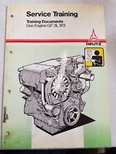 KHD Deutz GF3L913 Industrial Engine WorkShop Shop Service Training Manual