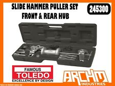 TOLEDO 245300 - SLIDE HAMMER PULLER SET FRONT & REAR HUB - MULTI-PURPOSE REMOVAL