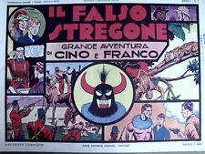 Avventure di Cino e Franco - Il Falso stregone 1973 Anastatica Nerbini [C21C]