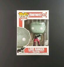 Funko POP! Games! Fortnite: Love Ranger #432 Figure | With POP Box Protector