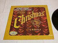 Robert Rheims Organ Chime Carols Merry Christmas Mistletoe LP RARE record vinyl