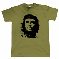 Che Guevara Retro Political, Mens T Shirt - Communist Rebel Cuba Revolution