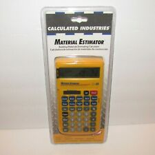 Calculated Industries Material Estimator Model 4019 New in Package Nip