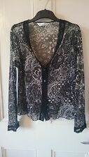 Nylon Long Sleeve V Neck Floral Tops & Shirts for Women