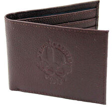 OFFICIAL OLYMPIC MUSEUM DESIGN BROWN LEATHER WALLET - LONDON 1948 LOGO