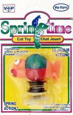 SpringTime BASS Cat Toy vinyl/Plastic with suction cup bottom