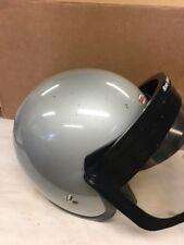 Vintage 7 1/2 Bell Super Magnum Helmet W Visor Sno Rider Motorcycle Race Car