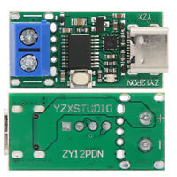 ZY12PDN Fast Charge Trigger Polling Detector USB‑C PD2.0 3.0 Power Board Module