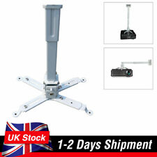 Ceiling Mount Bracket Stand for Projector Adjustable Wall Universal 44lb Load UK