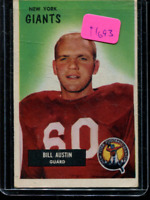1955 Bowman Football Card #'s 1-160 - You Pick - Buy 10+ cards FREE SHIP