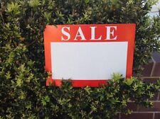 Sale Sign Blank Price Signs 21 X 15cm  Shop Signage Markets Garage Sales New Aus