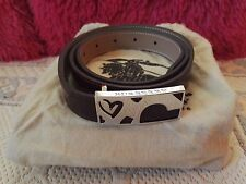 New Burberry Heart Shape Leather Belt