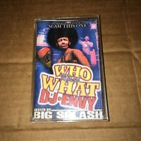 DJ ENVY Who Want What 90s NYC CASSETTE Hip Hop Mixtape Rap Tape
