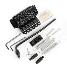 Black Floyd Rose Guitar Tremolo Bridge Parts System