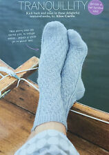KNITTING PATTERN Ladies Textured Patterned Ankle Socks Accessory Regia 4ply