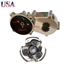 11T T8F Transmission Gear Box + Clutch Pad Fit 2 Stroke Pocket Dirt Bike New