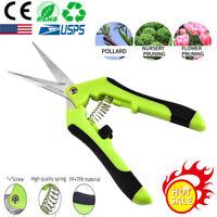 Trimming Leaf Snips | Garden Scissors Straight Blade | Pruning Shears Fruit Bud