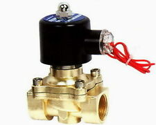 """1/2"""" Electric Solenoid Valve 12 v Air, Water... .new"""