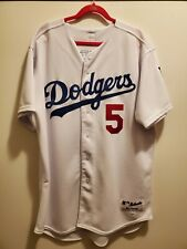 Authentic Los Angeles Dodgers Nomar Garciaparra Majestic 6200 Jersey Size 52