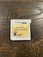 Authentic Detective Pikachu Nintendo 3DS Game Only Smoke Free Home