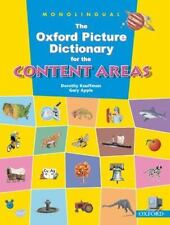 The Oxford Picture Dictionary for the Content Areas [Monolingual English Edition