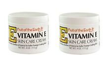 Fruit of the Earth New Vitamin E Skin Care Cream 4 oz. / 113g (Pack of 2)