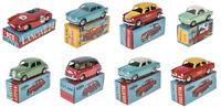 Lot de 8 voitures miniatures 1/48 Mercury Alfa Lancia Fiat Hachette