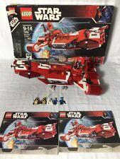 Lego Star Wars 7665 Republic Cruiser w/ All Mini Figures, Box and Manuals