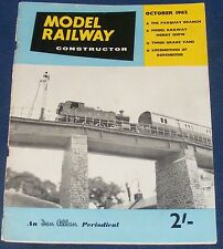 MODEL RAILWAY CONSTRUCTOR OCTOBER 1962 - THE PARQUAY BRANCH