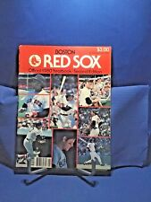 Boston Red Sox Official 1980 Yearbook 2nd Edition Illustrated