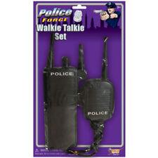 Costume Police Walkie Talkie Law Enforcement Handheld Adult Halloween Prop