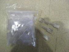 50 x Clear PVC Covers for 6.3mm Uninsulated Female Spade Crimp Terminals U49