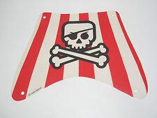 Lego ® Voile Bateau Pirate Tête de Mort 22x16 cm Evil Skull Sailing Pirate Ship