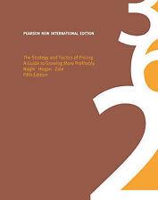 The Strategy and Tactics of Pricing by John Hogan, Joseph Zale, Thomas Nagle(AC)