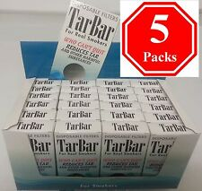 TarBar 5 Packs, Cigarette Filters, Compare with nic out, tarblock or tarstop.