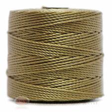 77 Yds. Super-Lon Cord #18 Khaki Green Beading Crafting Stringing Crochet