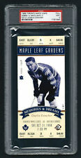 PSA 9 1998 Full Ticket Final Season Toronto Maple Leaf Gardens CHARLIE CONACHER