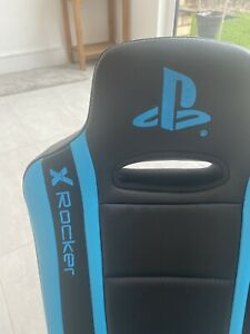 x rocker gaming chair used