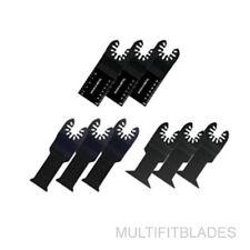 Quick Release 9 Piece Universal Bi-Metal Blade Trilogy- Rockwell Hyperkock