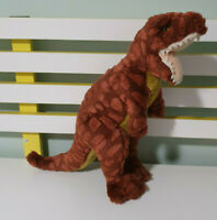 RUSS BERRIE BROWN TREX DINOSAUR SOFT TOY PLUSH TOY ABOUT 35CM TALL!