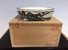 Multi Colored Shohin Or Mame Size Bonsai Tree Pot By Katsuyama, 3 1/2""
